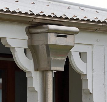 Open Faced Downspout